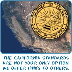 The California set of standards are not your only option.